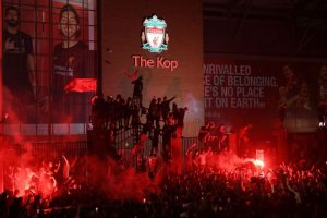Само 9 арестувани след среднощните шампионски фиести в Ливърпул