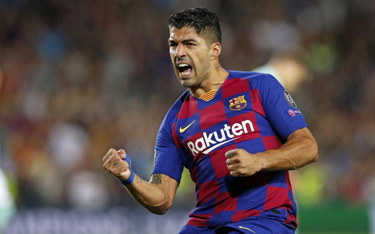 Луис Суарес би приел ролята на резерва в Барселона 1