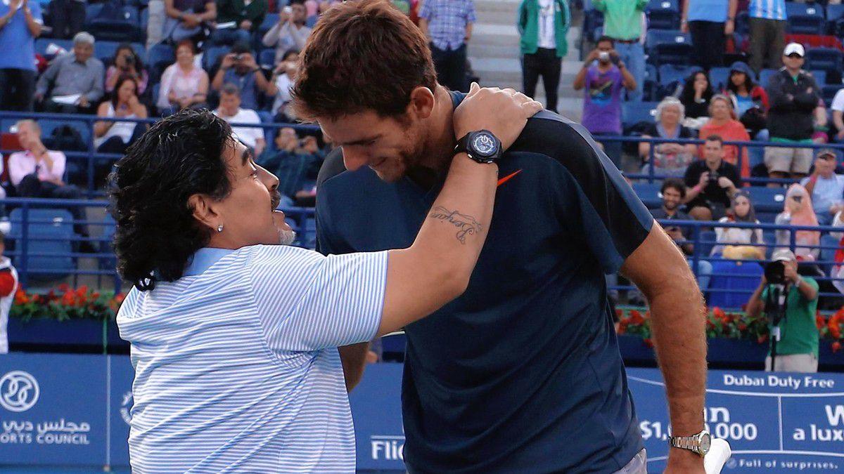 Светила в тениса с трогателни думи за Дон Диего 6