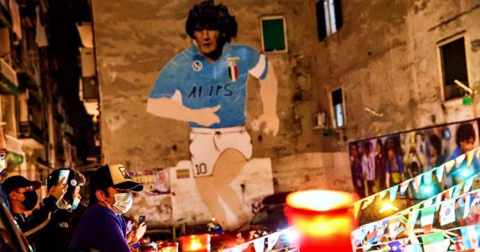 Трогателно - Наполи със специален екип в чест на Дон Диего 16