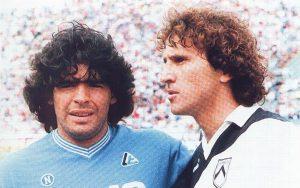 """Зико: """"Диего вкара с """"божията ръка"""" още през 1984″ (видео)"""