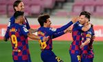 """Барселона изпрати Еспаньол в """"Сегунда"""" след минимален успех"""