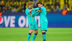 Барселона без Меси и Де Йонг в гостуването на Динамо Киев