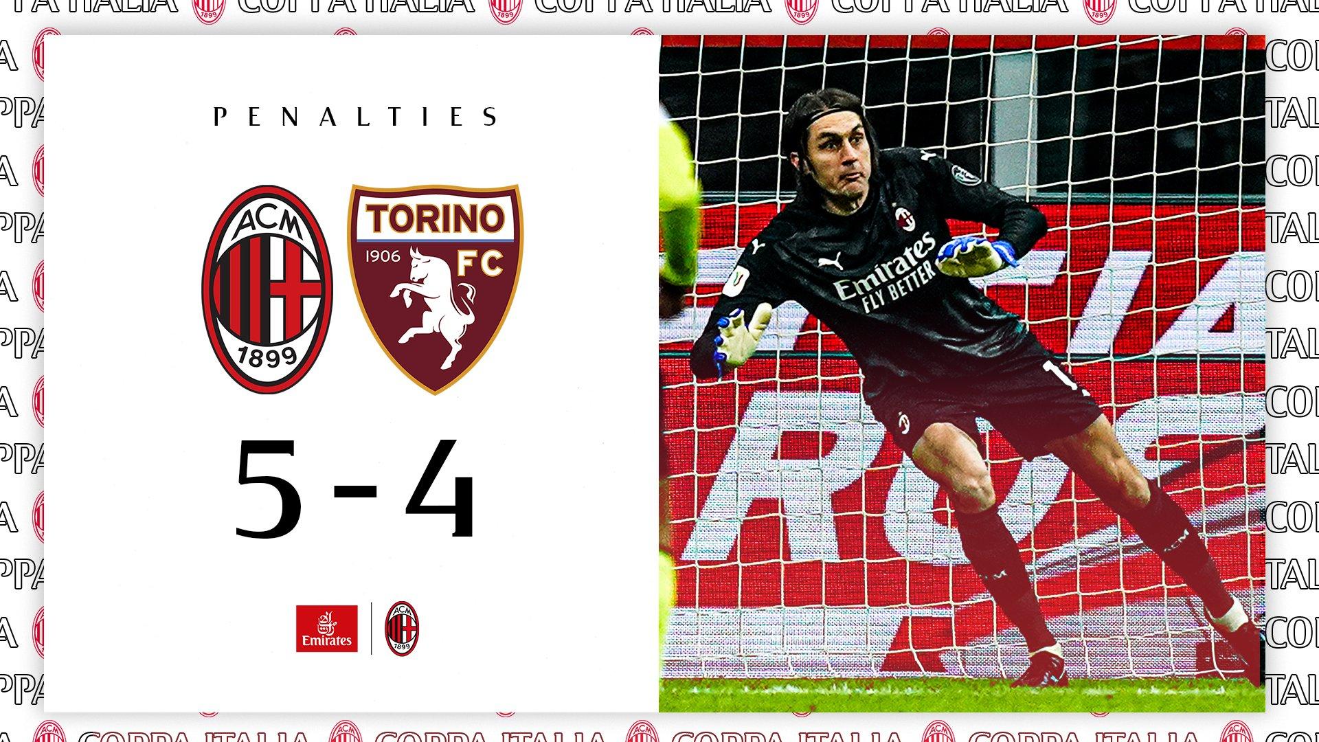 Милан се промуши до 1/4-финалите след дузпи 1