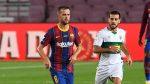 Барселона без Миралем Пянич в гостуването на Севиля 5