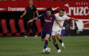 Барселона с равенство в Севиля в мач без попадения