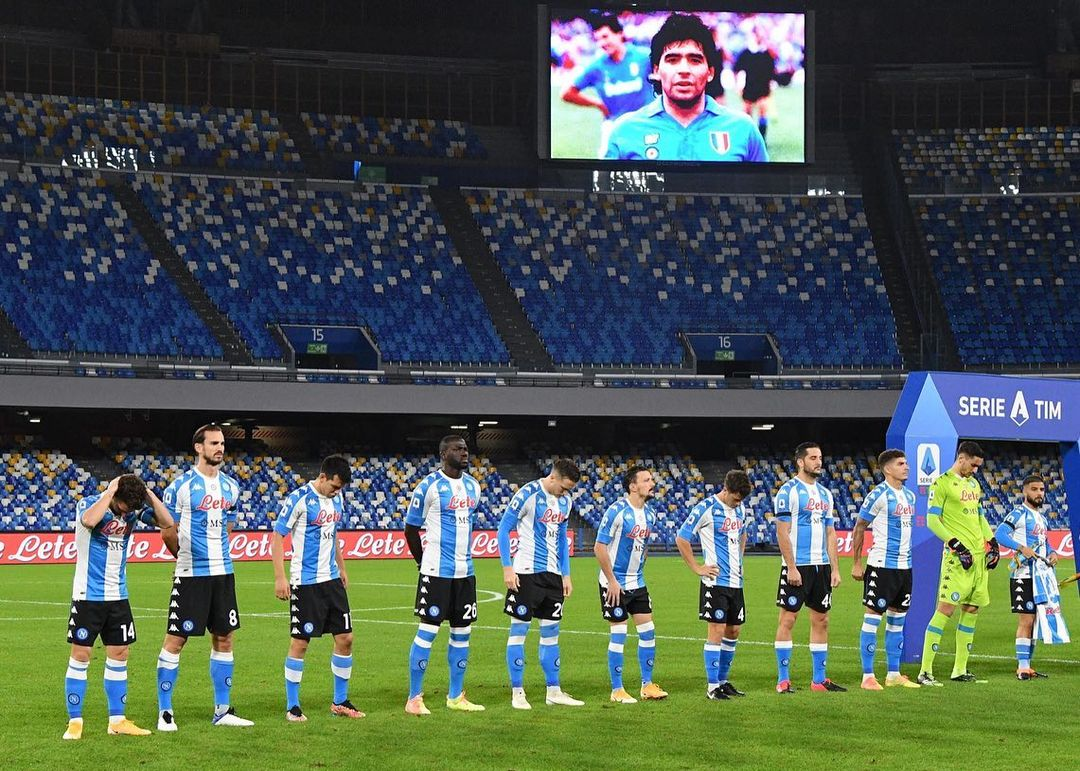 Наполи зарадва Диего с разгромна победа... с екипа на Аржентина 14