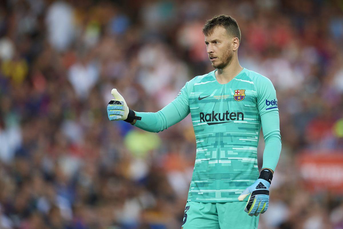 Арсенал с интерес към вратар на Барселона 1