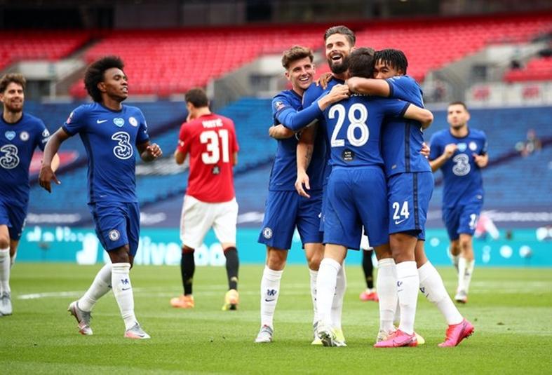 """Челси разби Манчестър Юнайтед и е на финал на """"ФА Къп"""" 1"""