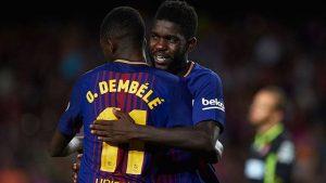 Манчестър Юнайтед преговаря с Усман Дембеле и Самуел Умтити