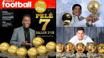 """Не е Меси - Пеле държи рекордът за най-много """"Златни топки"""" 3"""