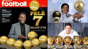 """Не е Меси – Пеле държи рекордът за най-много """"Златни топки"""""""