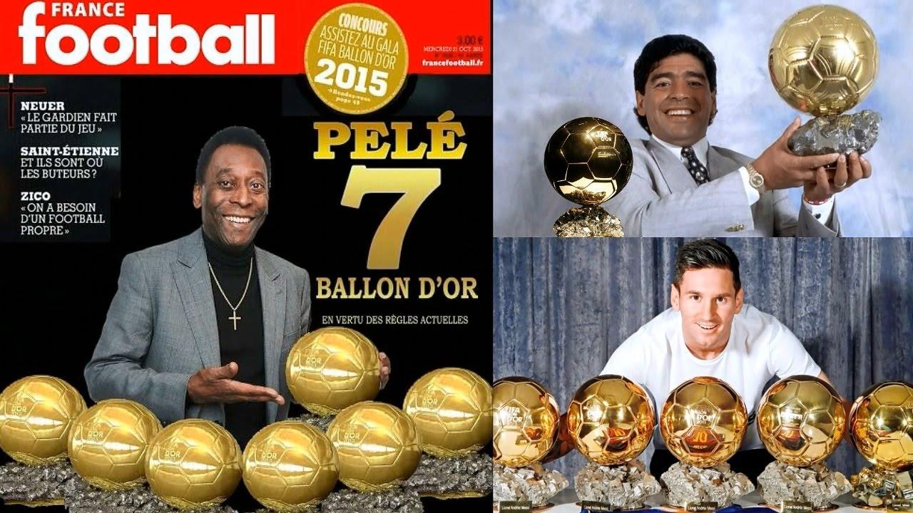"""Не е Меси - Пеле държи рекордът за най-много """"Златни топки"""" 14"""