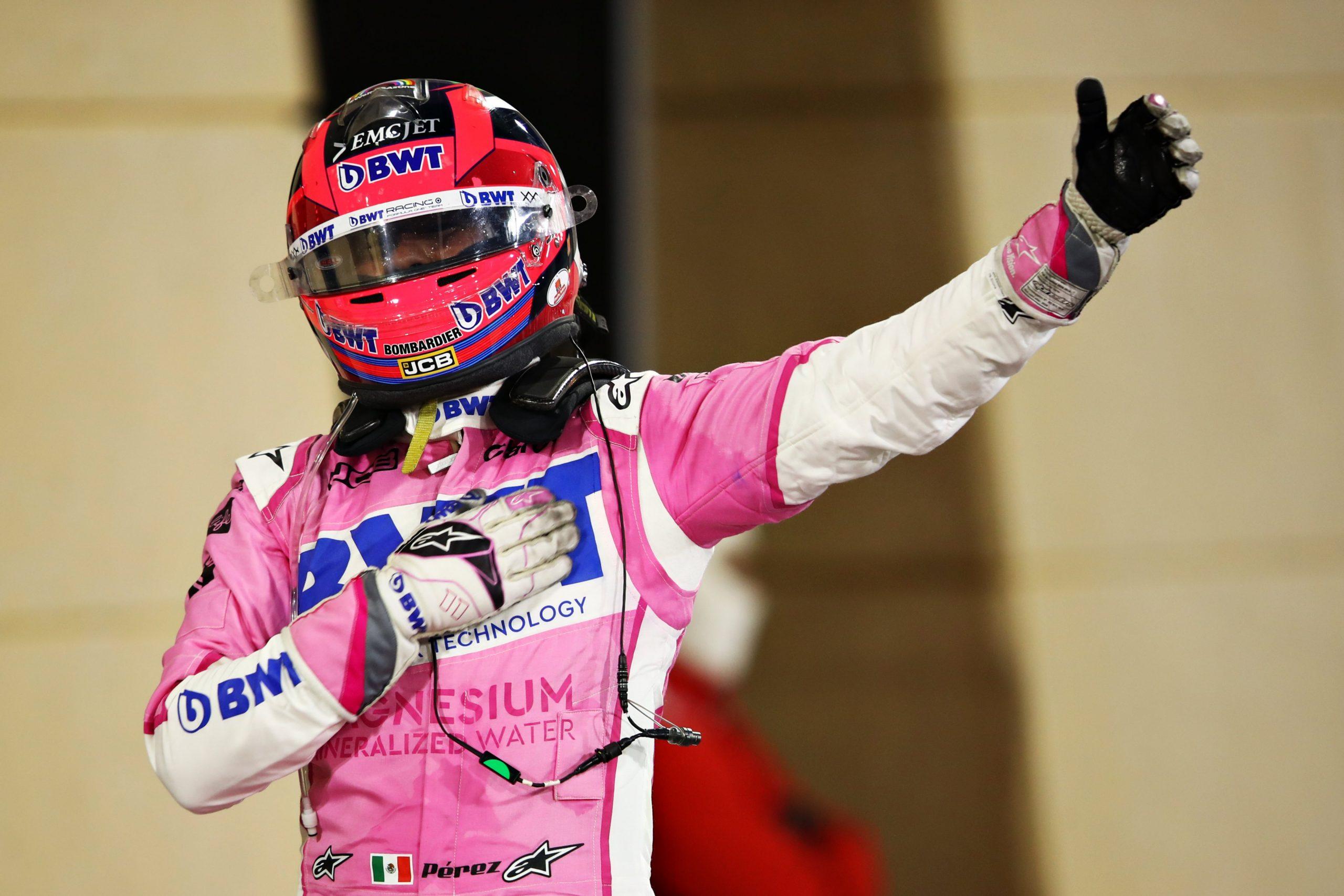 Сензация в Бахрейн - първа победа за Серхио Перес 24