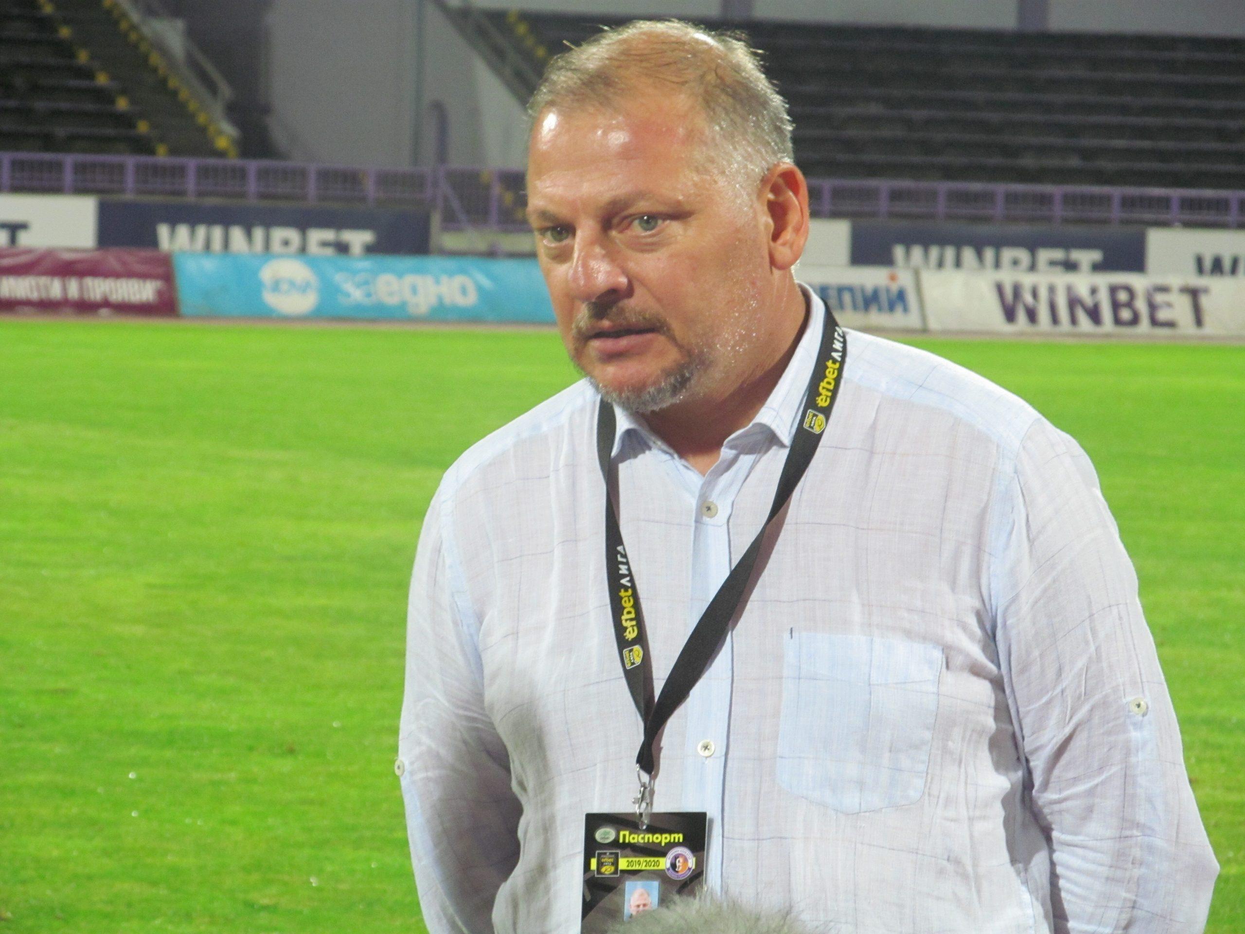 Петко Петков: Излизаме за победа срещу Берое 1