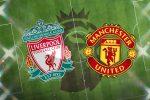 Стартовите състави на Ливърпул и Манчестър Юнайтед 2