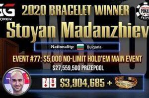 """Българин влезе в """"Гинес"""" с рекордна печалба от турнир по покер"""