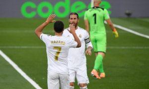 """Реал Мадрид се завърна в """"Ла Лига"""" с рутинен успех срещу Ейбар"""