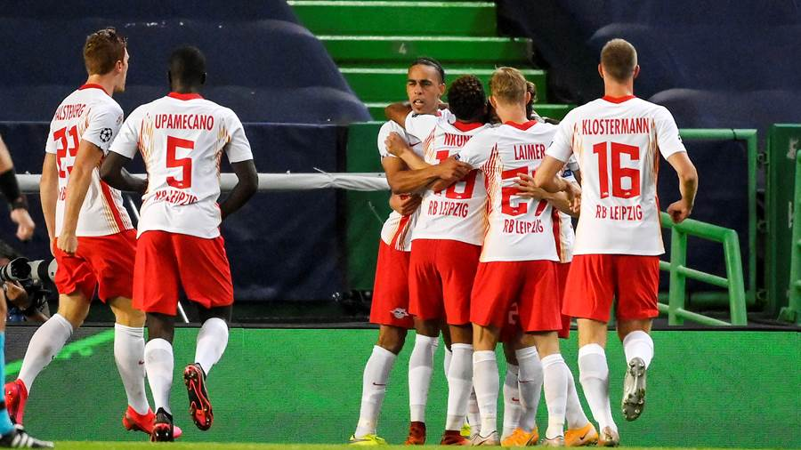 РБ Лайпциг се класира на исторически 1/2-финал в Шампионска лига 20
