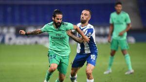 """Реал Мадрид излезе начело в """"Ла Лига"""" след успех над Еспаньол"""