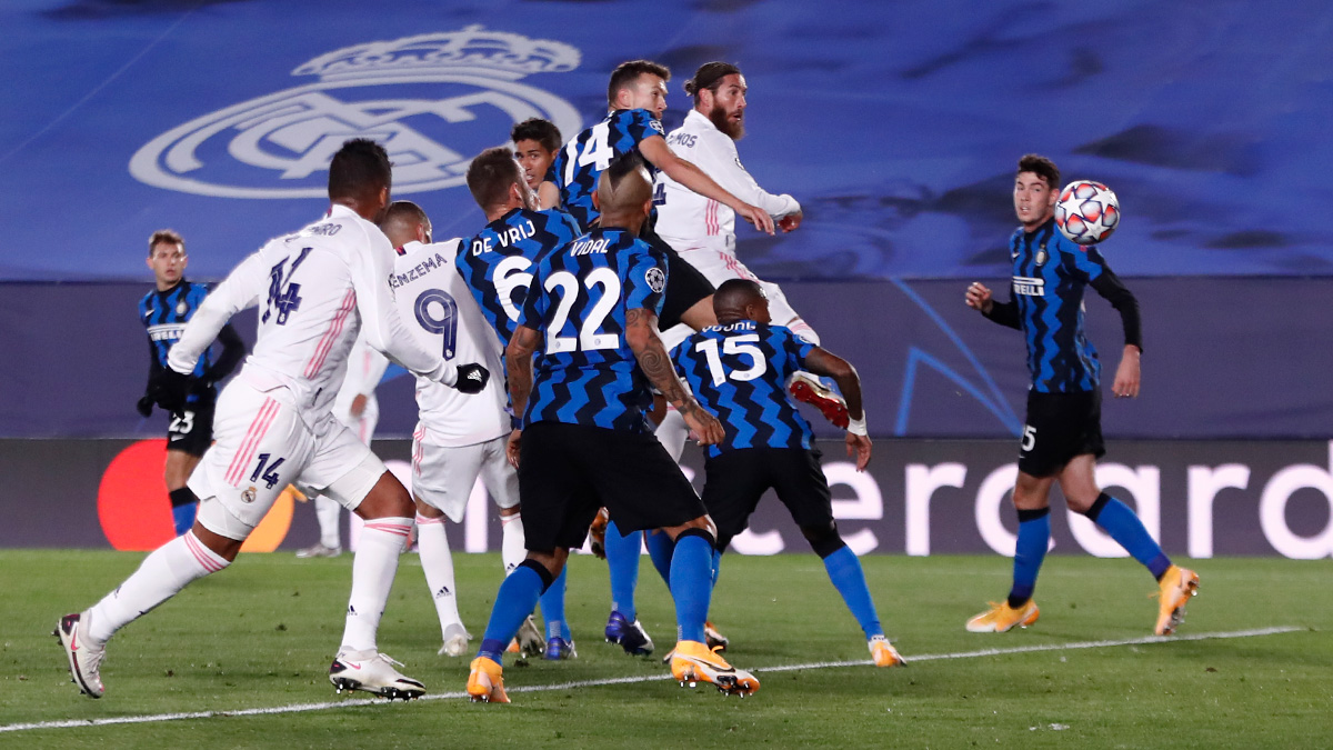 Реал Мадрид с драматичен първи успех в ШЛ, надви Интер у дома 19