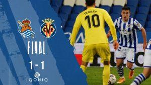 Реал Сосиедад взе само точка в дуела с Виляреал