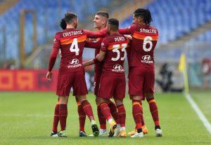 Рома се поздрави с минимален успех срещу Дженоа и влезе в топ 4