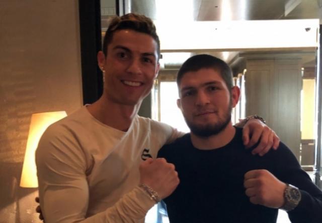 """Роналдо подкрепи своя """"брат"""" Хабиб 1"""