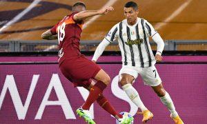 Ювентус взе точка от Рома с човек по-малко и два гола на Роналдо