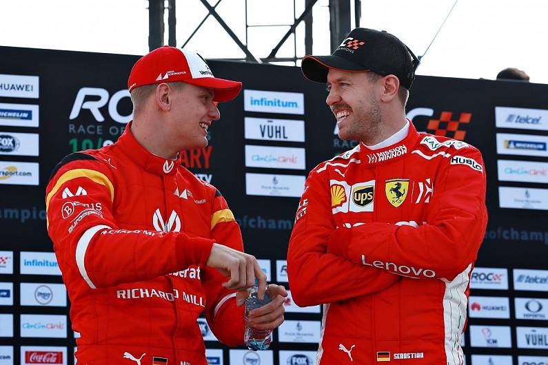 Фетел е щастлив, че ще бъде ментор на Мик Шумахер 1
