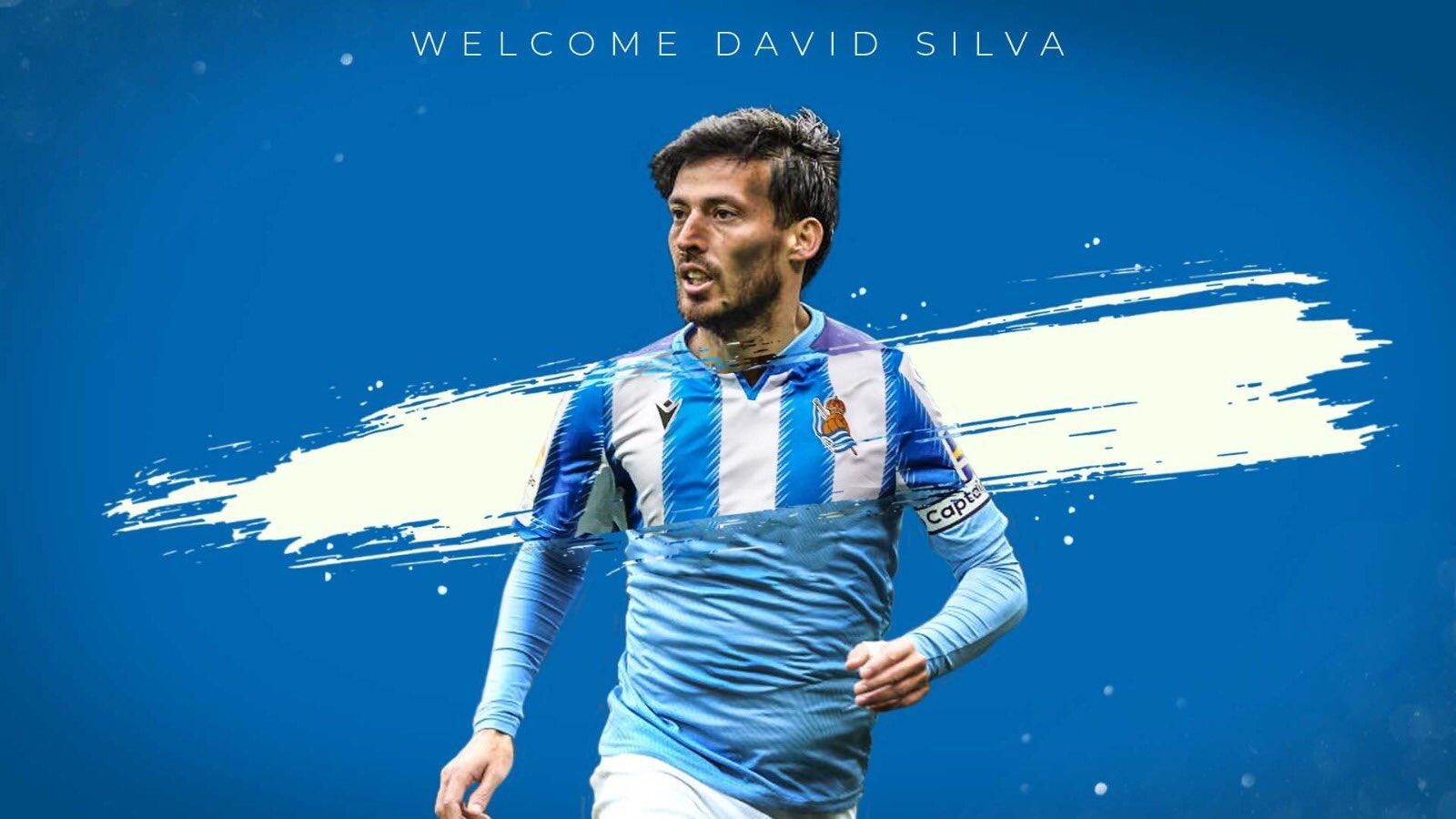 Давид Силва подписа с Реал Сосиедад 1