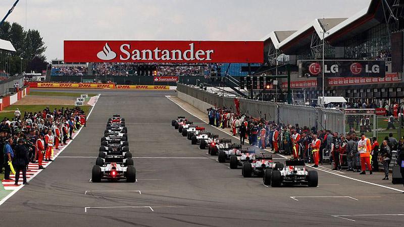 Формула 1 прави промени в календара - Силвърстоун отпада 1