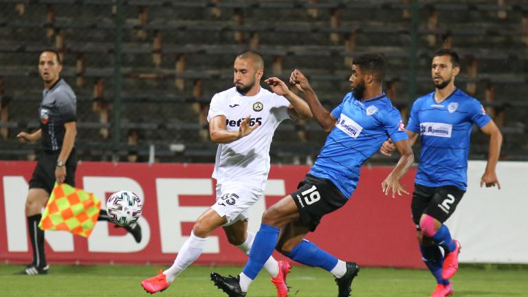 Славия изпусна трите точки срещу Черно море в 95-ата минута 1