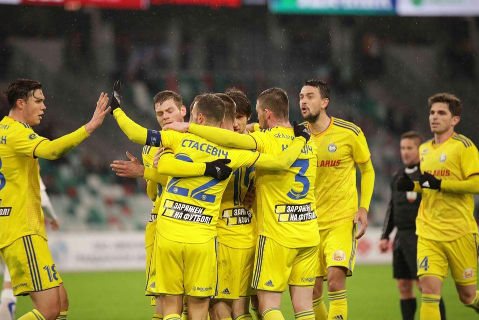 PalmsBet със залози за 3-ия кръг на беларуската Висша лига 1