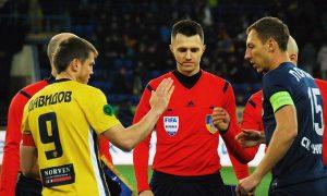 Украинец с тригодишен опит ще ръководи мача на Лудогорец
