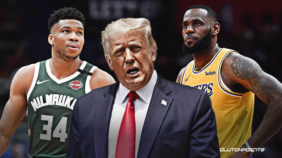 """Гневен Тръмп за НБА: """"Приличат на политическа организация!"""" 4"""