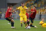 Украйна записа престижна победа над Испания