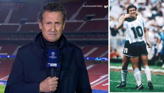Валдано се срина, избухна в сълзи за Диего Армандо Марадона 1