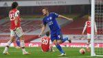 Лестър излъга Арсенал с победен гол на резервата Варди 8