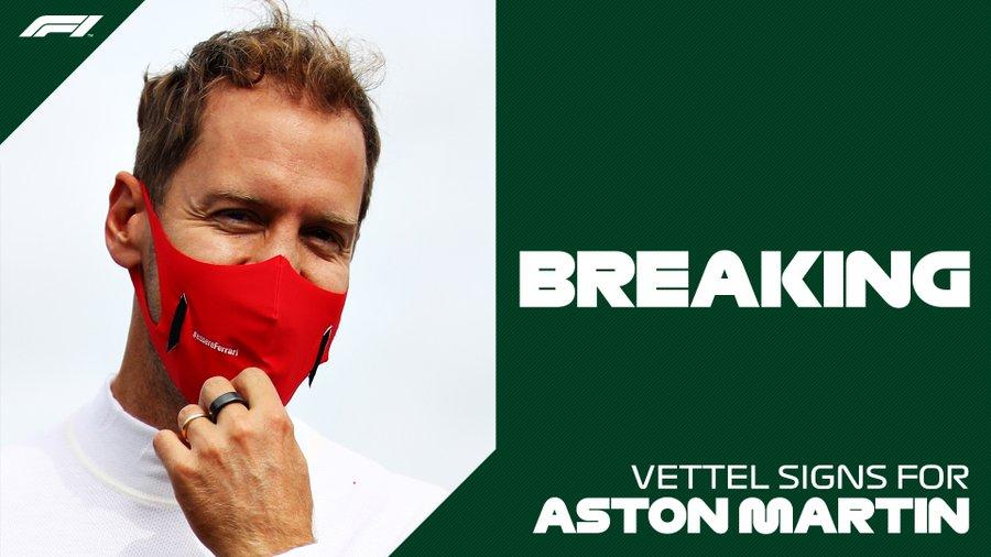 Фетел остава във Формула 1 - с Астън Мартин 1