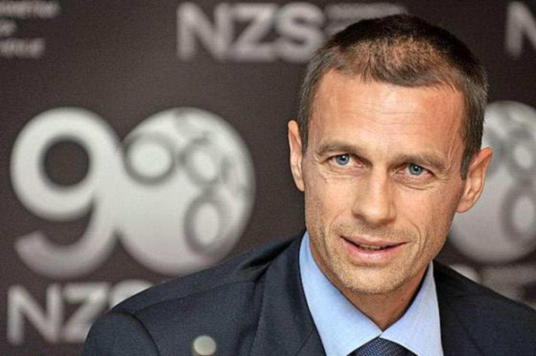 Президентът на УЕФА с няколко плана за продължаването на Шампионска лига