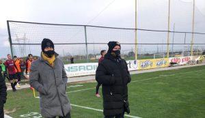 Антон Зингаревич посети Колежа заедно с наставника на Ботев Пд
