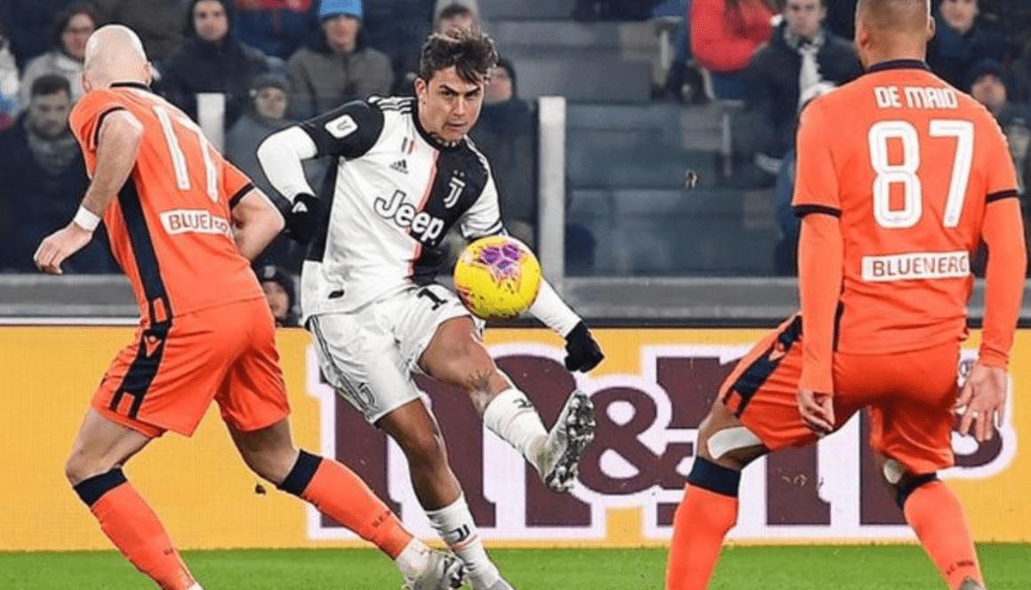 Дибала блесна с два гола при победния поход на Ювентус за Копа Италия 1